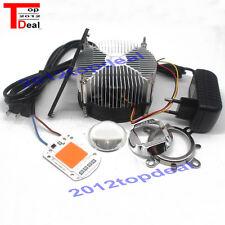 50W 380NM-840NM Full Spectrum LED + Heatsink Cooler+lens +power