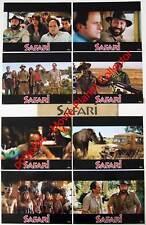 SAFARI - Kad Merad - V.Benguigui - Set of 8 FRENCH LC
