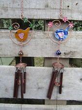 Handmade Resin Wren Bird Suncatcher Sun Catcher Window Wind Chime Mobile