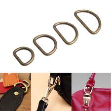 D Ring 20/25/32/38 mm Webbing Strap Carabiner Leather Handbag Hook Clasp Buckle