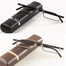 Reading Glasses TR90 Half Rim Reader Spectacles +1.0 +1.5 1.75 2.0 2.25 2.5 3.5