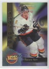 1995-96 Signature Rookies #12 Richard Park Pittsburgh Penguins Hockey Card