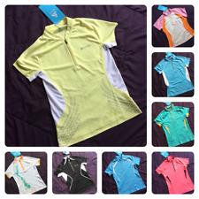 ODLO Jacket Ladies Womens Outdoor Running Active Sports Long Sleeve Jersey Zip