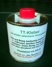 Tischtennis Kleber   250 ml     Pinseldose