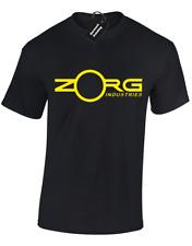 Zorg Ind. para Hombre Camiseta Retro Clásico Quinto Elemento Pelicula Peli Sci-fi Leeloo S -