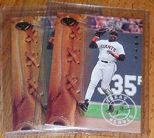 1995 Leaf Great Gloves Insert #3 Barry Bonds