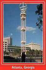 Underground Atlanta Light Tower, Entrance at Peachtree Street,Georgia - Postcard