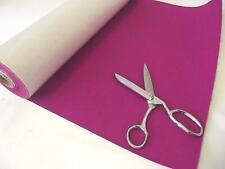 Self Adhesive Felt Baize Fabric Mini Rolls - FUCHSIA