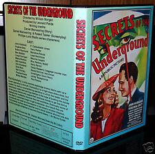 SECRETS OF THE UNDERGROUND - DVD - Virginia Grey