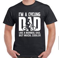 Soy un papá de ciclismo como un padre normal, pero mucho más fresco para Hombre Divertido Camiseta MTB