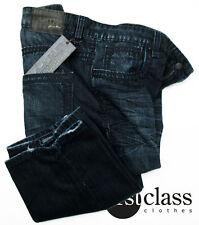 lavecchia Vaqueros De Marca Azul Oscuro Usado W40-W52, L 32 NUEVO