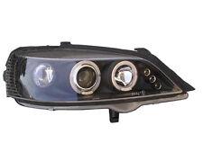 VAUXHALL ASTRA G MK4 98-04 Black Angel Eye Projector Headlights 1 PAIR