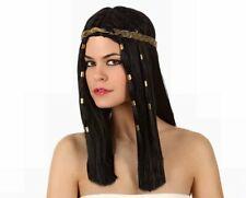 Perruque de Cheveux Égyptien Lady Antique PHARAON EGYPTE