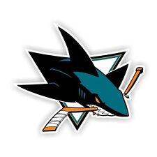 San Jose Sharks Decal / Sticker Die cut