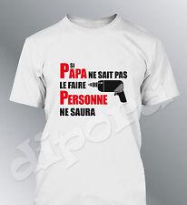T-shirt personalizzato uomo SI PAPA celebrazione padri umorismo compleanno