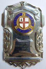 Plaque insigne émail LONDON FOOTBALL LEAGUE 1960-61 original collector ancien