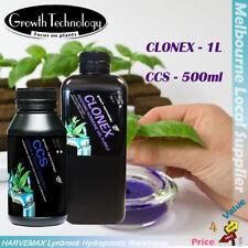 Growth Technology Clone Solution CCS 500ml & Clonex Rooting Gel Hydroponics Kit