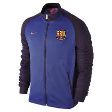 Nike FC Barcelona Jacket Men's 777269-524 Soccer N98 Navy Blue 2016/17 Rare