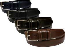 Cintura in pelle spazzolata - 35 mm