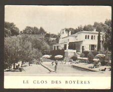 MOUGINS (06) LE CLOS DES BOYERES , PISCINE animée 1972