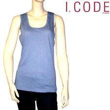 I.CODE by IKKS Tee shirt débardeur femme bleu violine