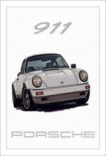 Porsche 911 art imprimé