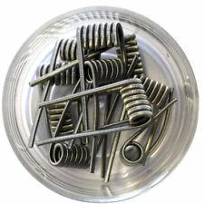 10x Alien Coil Clapton Fertigwicklung Prebuilt Edelstahl, Kanthal 0,36, 0,45 Ohm