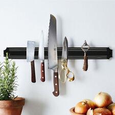 Strong Magnetic Tool Knife Holder Rack Wall Mount Strip Block Kitchen Bracket