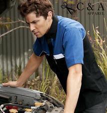 New Mens Short Sleeve Mechanic Motor Casual Shirts Auto Repair Shop T-shirts