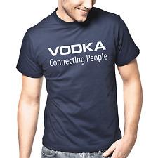 Vodka-connecting people | Fun | culto | proverbios | fiesta | diversión | S-XXL T-Shirt