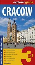 Cracow explore guide + city atlas + map (3 in 1) by ExpressMap Polska Sp. z o.o.