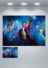 La mayor showman Hugh Jackman, Zac Efron película gran impresión de arte cartel
