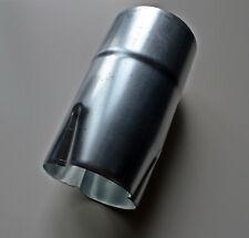Manchon de réduction zinc diamètre au choix 100 ou 80 mâle/femelle