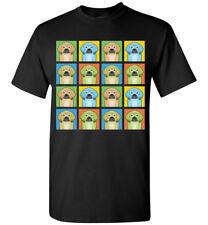 Puggle Cartoon Pop-Art T-Shirt Tee - Men Women's Youth Tank Short Long Sleeve
