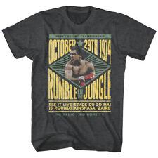 OFFICIAL Muhammad Ali Rumble in the Jungle Kinshasa Zaire 1974 Men's S 5XL