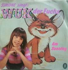 "7"" 1984 GERMAN RARE ! SIMONE : Wuk der Fuchs /MINT-"