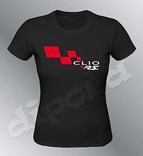 Tee shirt personnalise Clio RS S M L XL femme Sport