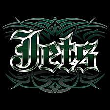NEW Jets Tattoo Style T-shirt New York MEDIUM LARGE L XL 2X 3X MEN WOMEN