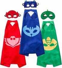 PJ Masks Cape & Mask Superhero Fancy Dress Costume UK