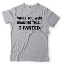Funny Mens T-shirt Farting Fart Funny shirt Offensive Humor Tee shirt Birthday