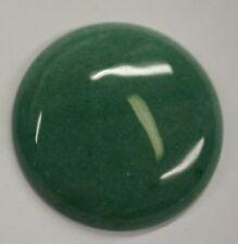 Natural Aventurine Green Round Calibrated Cabochon 20mm 25mm 38mm Gemstones