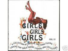V.A. - GIRLS, GIRLS, GIRLS Vol.10 Rare CD on Marginal