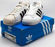 Adidas Men's Vintage 2002 Superstar 2 Tumble Leather 034859 White/Black sz 8