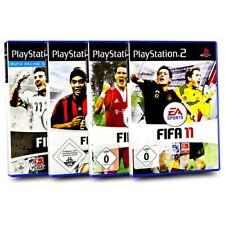Playstation 2 Fifa Spiele Bundle Fifa 08 + Fifa 09 + Fifa 10 + Fifa 11 -4 Spiele