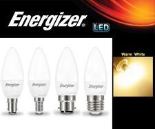 1 / 2 / 4 / 6 / 10x Energizer LED 5.9W Candle Lamps Light Bulb Warm White - OPAL
