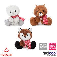 "New! Aurora JUST CHILLIN' Plush Soft Cuddly Toys Size 22cm (9"") Children's Gifts"