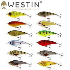 Westin Swim 6,5cm 9g - Jerkbait Suspending, Wobbler, Jerk Bait, Barschköder