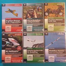 RC Modellbau 8 DVD Workshops zum aussuchen oder komplett NEU & OVP
