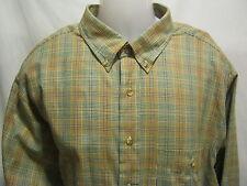 Arrow Tournament Chevella Vintage Button Shirt 2XL/XXL Plaid Long Sleeve NEW