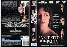 Il verdetto della paura (1994) VHS
